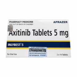 Купить Инлибест Акситиниб (Inlybest 5) :: Инлита аналог 5мг таблетки №28 в Екатеринбурге
