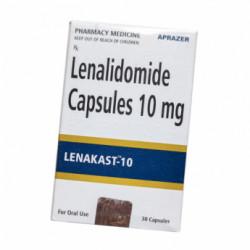 Фото препарата Леналидомид Ленакаст (Lenakast 10) :: Ревлимид аналог капсулы 10мг №30