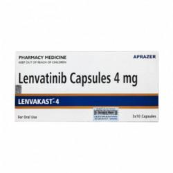Фото препарата Ленватиниб/Ленвакаст (Lenvakast 4) :: Ленвима аналог 4мг капс. №30