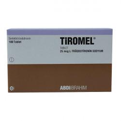 Купить Тиромель (Tiromel, Цитомель, Лиотиронин) табл. 25мкг №100 (100 штук) в Екатеринбурге