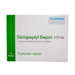 Купить Декапептил депо (Трипторелин) лиоф. для инъекций 3,75мг №1 в Екатеринбурге