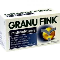 Купить Granufink, Грануфинк простата и мочевой пузырь капс. №40 в Екатеринбурге