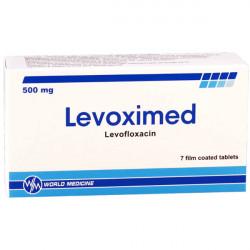 Купить Левоксимед (Levoximed) таблетки 500мг №7 в Екатеринбурге