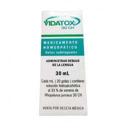 Купить Видатокс/Vidatox 30CH 30мл в Екатеринбурге