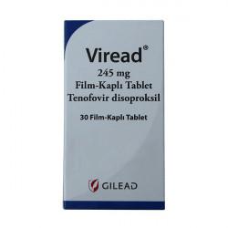 Купить Виреад (Viread) таблетки 245мг №30 в Екатеринбурге