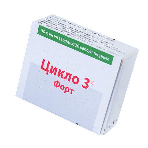Купить Цикло 3 форт капсулы N30 в Екатеринбурге
